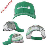 Mayflower Truck Graphic Mesh Cap