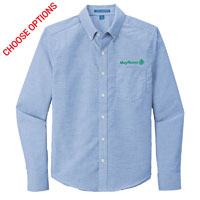 Mayflower Mens Untucked Fit Oxford Shirt
