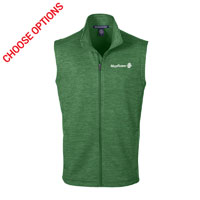 Mayflower Mens Melange Fleece Vest