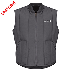 Mayflower Mens Red Kap Quilted Vest