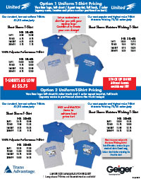 United T-Shirt Order Form PDF